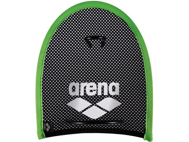 arena Flex Hand Paddle acid-lime/black